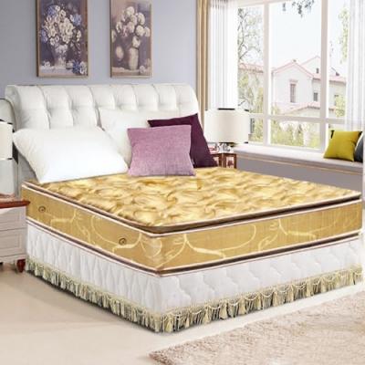 布萊迪 Brady  優眠五段式竹炭紗正四線乳膠+竹炭記憶棉獨立筒床墊-雙人5尺