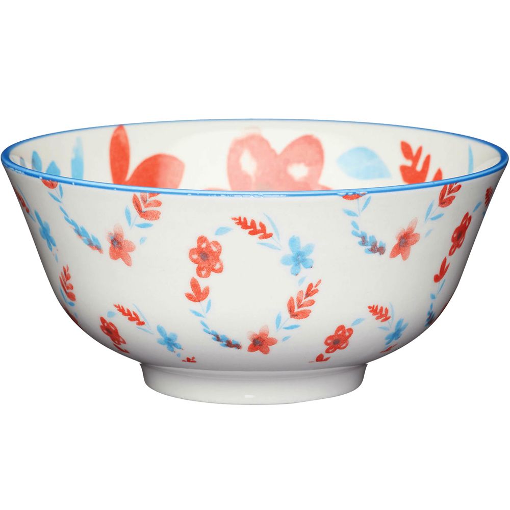 《KitchenCraft》陶製餐碗(小花圈)