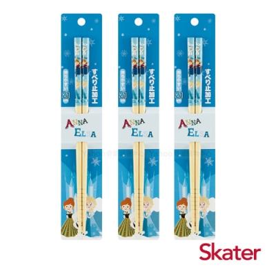 Skater日式竹筷(21cm)冰雪奇緣3入組