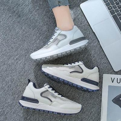 韓國KW美鞋館-經典厚底絨休閒鞋(輕量 運動鞋 休閒鞋)(共2色)