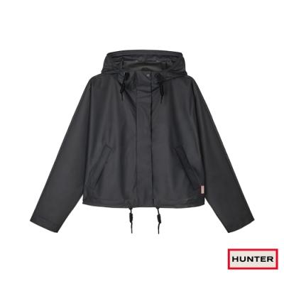 HUNTER - 女裝-短版連帽外套 - 黑