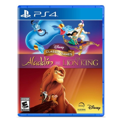 PS4 迪士尼經典遊戲:阿拉丁和獅子王 - 英文版