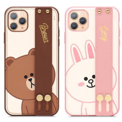 GARMMA LINE FRIENDS iPhone 11 Pro Max 手掌帶保護套