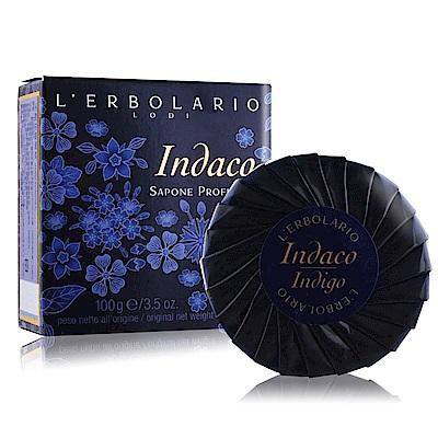 LERBOLARIO蕾莉歐 木藍花植物皂100g Indigo Perfumed Soap