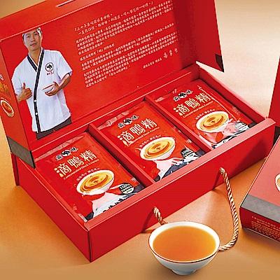 霸味-滴鴨精禮盒X3盒(12包/盒)