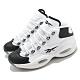Reebok 籃球鞋 Question Mid 運動 男鞋 經典款 復刻 Iverson 舒適 穿搭 白 黑 GX5260 product thumbnail 1