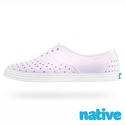 native JERICHO 女鞋-珠光粉x貝殼白