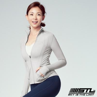STL Fine Jacket 韓國 運動機能極輕量立領外套 摩登白