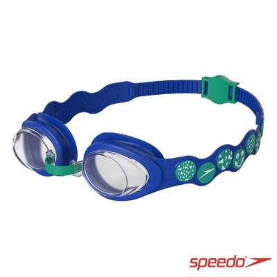 SPEEDO 幼童運動泳鏡 Spot 小鱷魚藍
