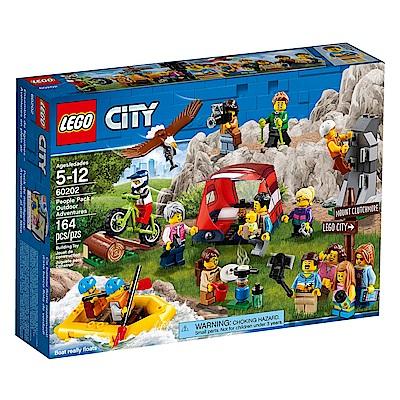 【LEGO樂高】城市系列 60202 戶外探險人偶組