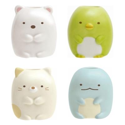 日本San-x牙刷架FE21系列 筆架 -角落生物(白熊、企鵝、貓、蜥蜴)