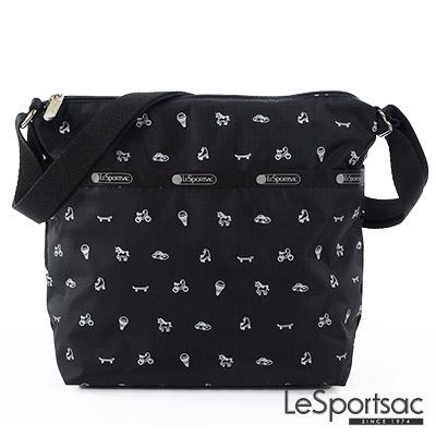 LeSportsac - Standard側背小方包 (印章圖騰)