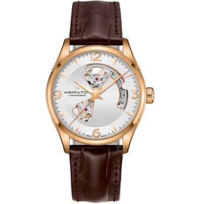 Hamilton漢米爾頓爵士系列OPEN HEART機械錶(H32735551)
