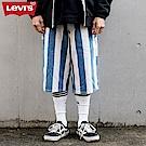 Levis 男款 寬版工作褲 藍白條紋 銀標Silver Tab系列