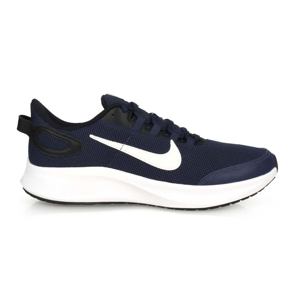 NIKE RUNALLDAY 2 男慢跑鞋-訓練 輕量 透氣 健身 CD0223400 丈青黑白