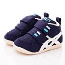 亞瑟士SUKU2機能鞋 護踝穩定童鞋 ON10-400藍(寶寶段)