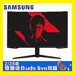 SAMSUNG C27G77TQSC 27型 1000R 240Hz曲面電競螢幕 2K