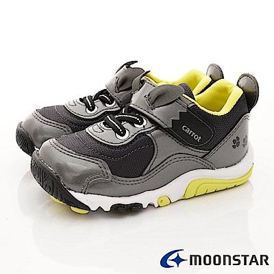 日本Carrot機能童鞋 速乾公園鞋款 TW2177灰(中小童段)