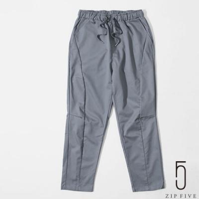 ZIP日本男裝 錐形褲剪裁主廚鬆緊褲 (7色)