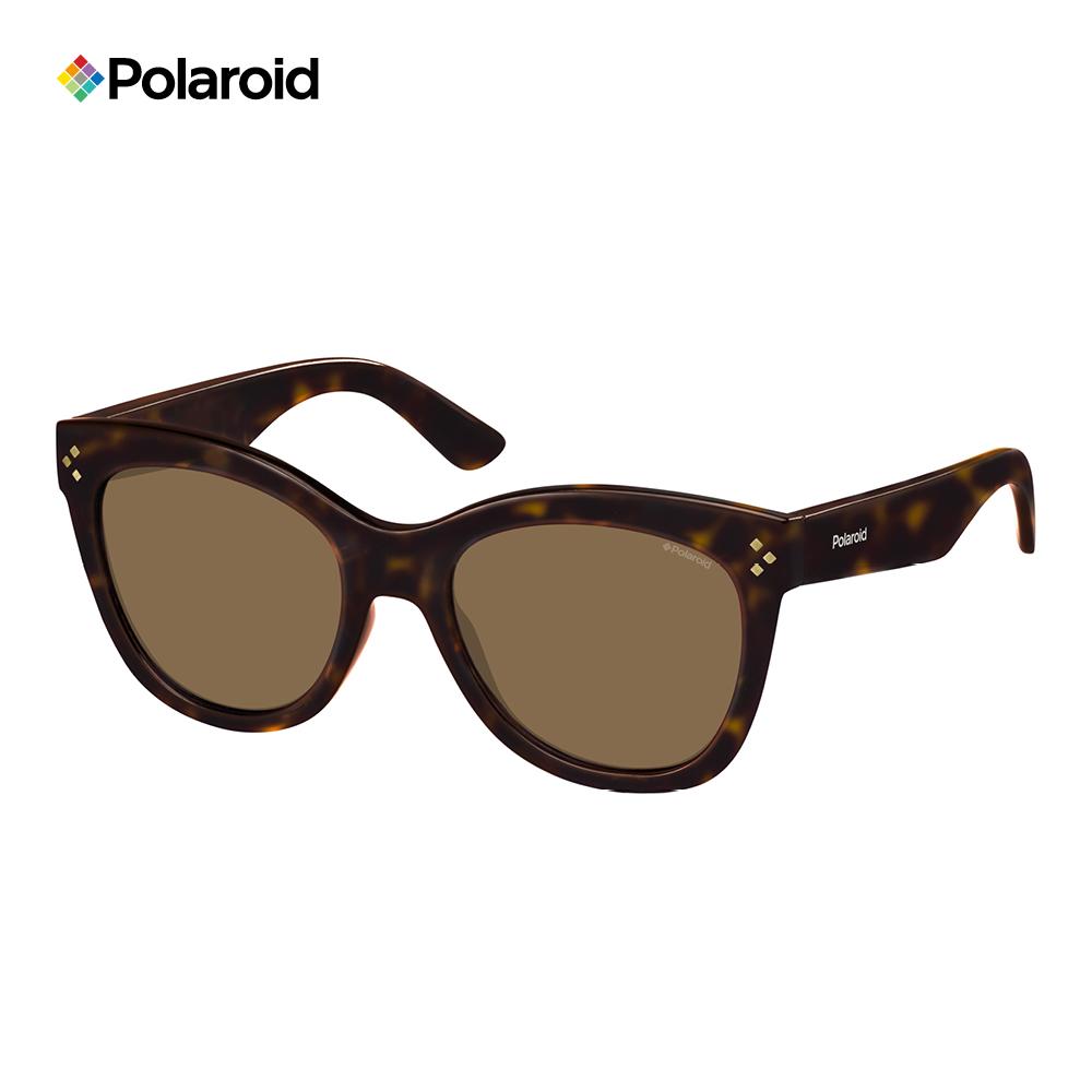 Polaroid PLD 4040/S-柔美眉框太陽眼鏡 玳瑁色