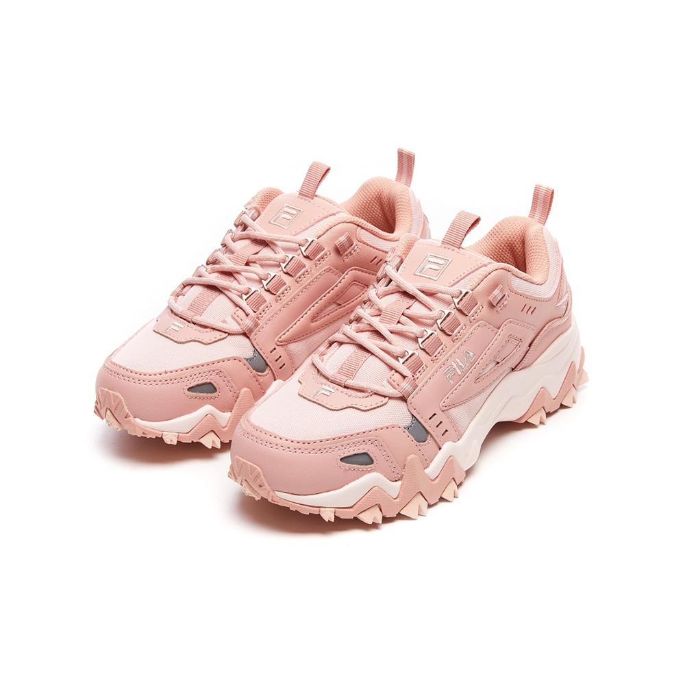FILA OAKMONT TR 女慢跑鞋-粉 5-J032V-650
