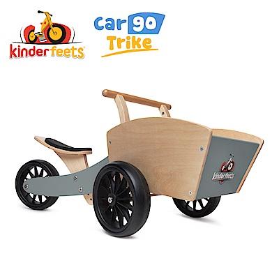 Kinderfeets 美國木製平衡滑步教具車_初心者收藏家系列 (灰騎士)