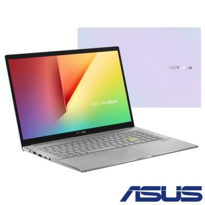 ASUS S533JQ 15吋筆電(i5-1035G1/MX350/8G/512G SSD/VivoBook S15/幻彩白)