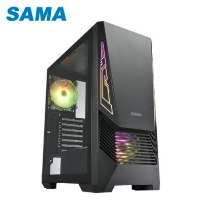 SAMA 先馬 MG-I 無打孔玻璃 ARGB 電競機殼 散熱機殼