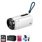 JVC GZ-R470 防水防塵防寒防摔 數位攝影機(公司貨)-白色