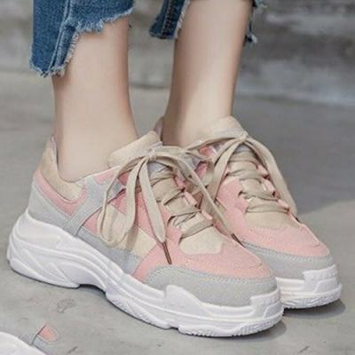 韓國KW美鞋館-輕美學癡情追隨運動老爹鞋(老爺鞋 運動鞋 休閒鞋)(共2色)