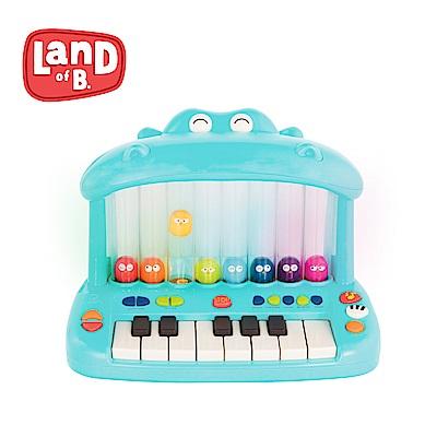 B.Toys 噴氣河馬彈鋼琴_Land of B.系列