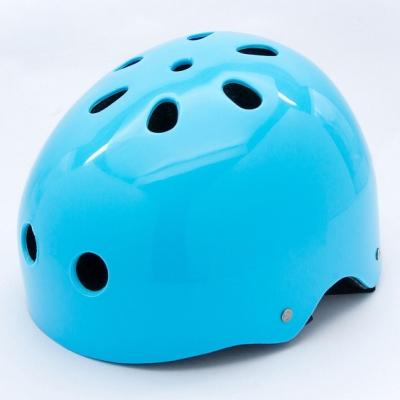 DLD多輪多 專業直排輪 溜冰鞋 自行車 滑板 極限運動專用安全頭盔 安全帽 藍