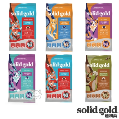 Solid Gold 速利高 超級貓用寵糧 6lb
