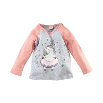 魔法Baby 女童裝 秋冬款彈性柔棉長袖T恤 k61175