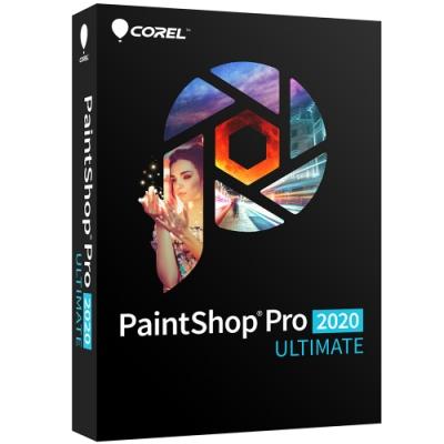 PaintShop Pro 2020 旗艦版盒裝