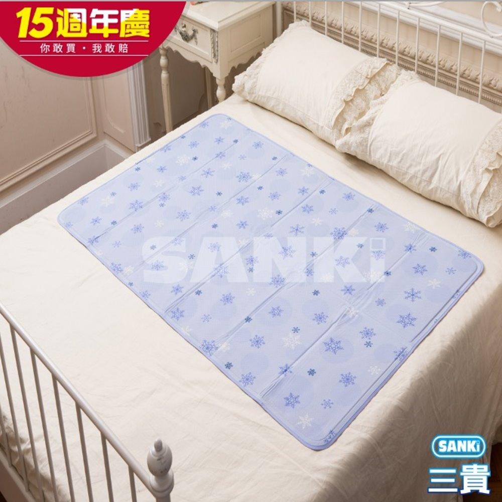 三貴SANKI 雪花紫固態凝膠床墊1床 90x140cm @ Y!購物
