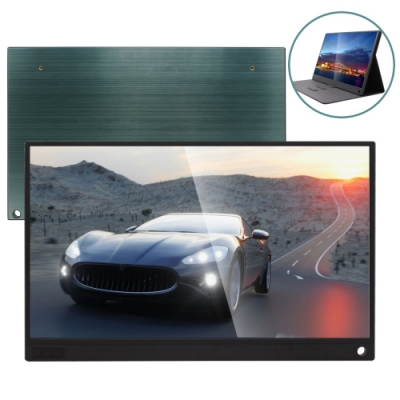 IS愛思 PLAYTV-T PLUS 15.6吋超薄觸控可攜式液晶螢幕 附可立式螢幕支架皮套