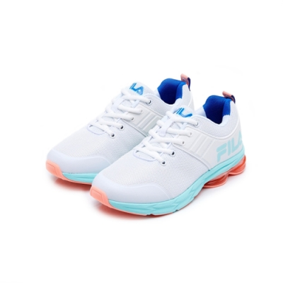 FILA ENERGY CAPSULE 女性慢跑鞋-白 5-J905U-133