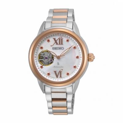 SEIKO LUKIA芯動優雅限量款機械腕錶4R38-01W0G/SSA792J1