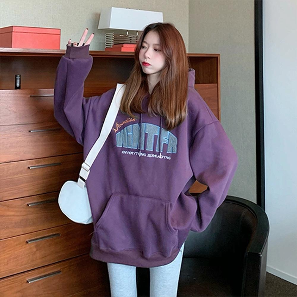 【韓國K.W.】(預購)好評加碼風花雪月連帽上衣
