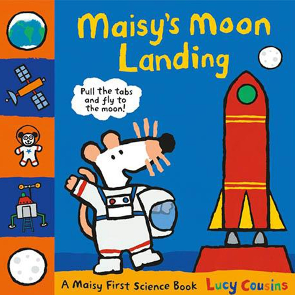Maisy's Moon Landing 波波登陸月球精裝立體操作書