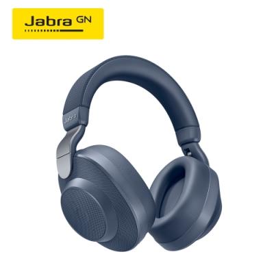 Jabra Elite 85h 頭戴式智能降噪藍牙耳機(藍)(公司貨)