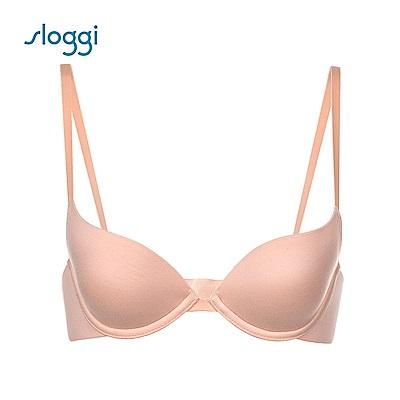 sloggi Zero 系列 下厚上薄罩杯內衣 D罩杯 蜜桃色