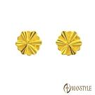 MANSTYLE 愛在旋轉 黃金耳環 (約0.35錢)