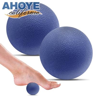 Ahoye TPE筋膜放鬆按摩球 2顆入 花生球 筋膜球