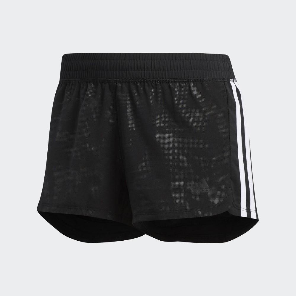 adidas 短褲 3-Stripes Embossed 女款