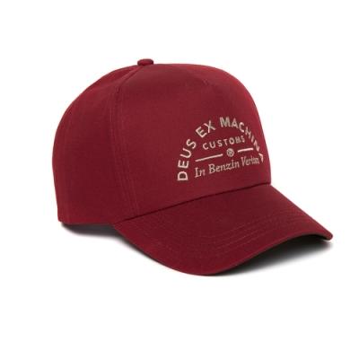 Deus Benzin Trucker-棒球帽 - 紅(男/女)