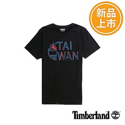 Timberland 男款黑色品牌台灣T恤