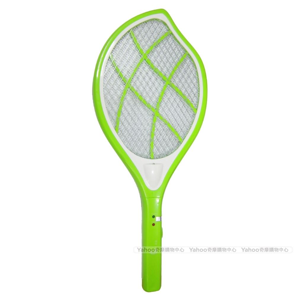 東龍小綠葉充電式捕蚊拍T-113