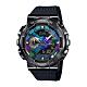 CASIO卡西歐 G-SHOCK 全金屬外殼 色彩錶盤 GM-110B-1A_48.8mm product thumbnail 1